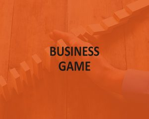 BUSINESS GAME: IN SOMEONE'S SHOES